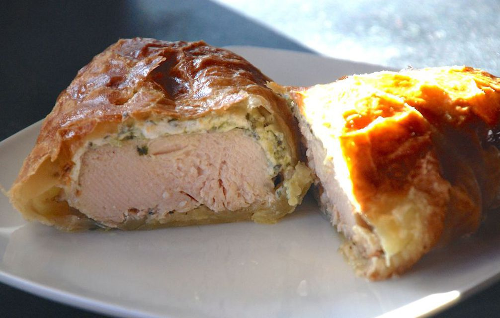 Chimichurri Chicken Wrapped in Puff Pastry