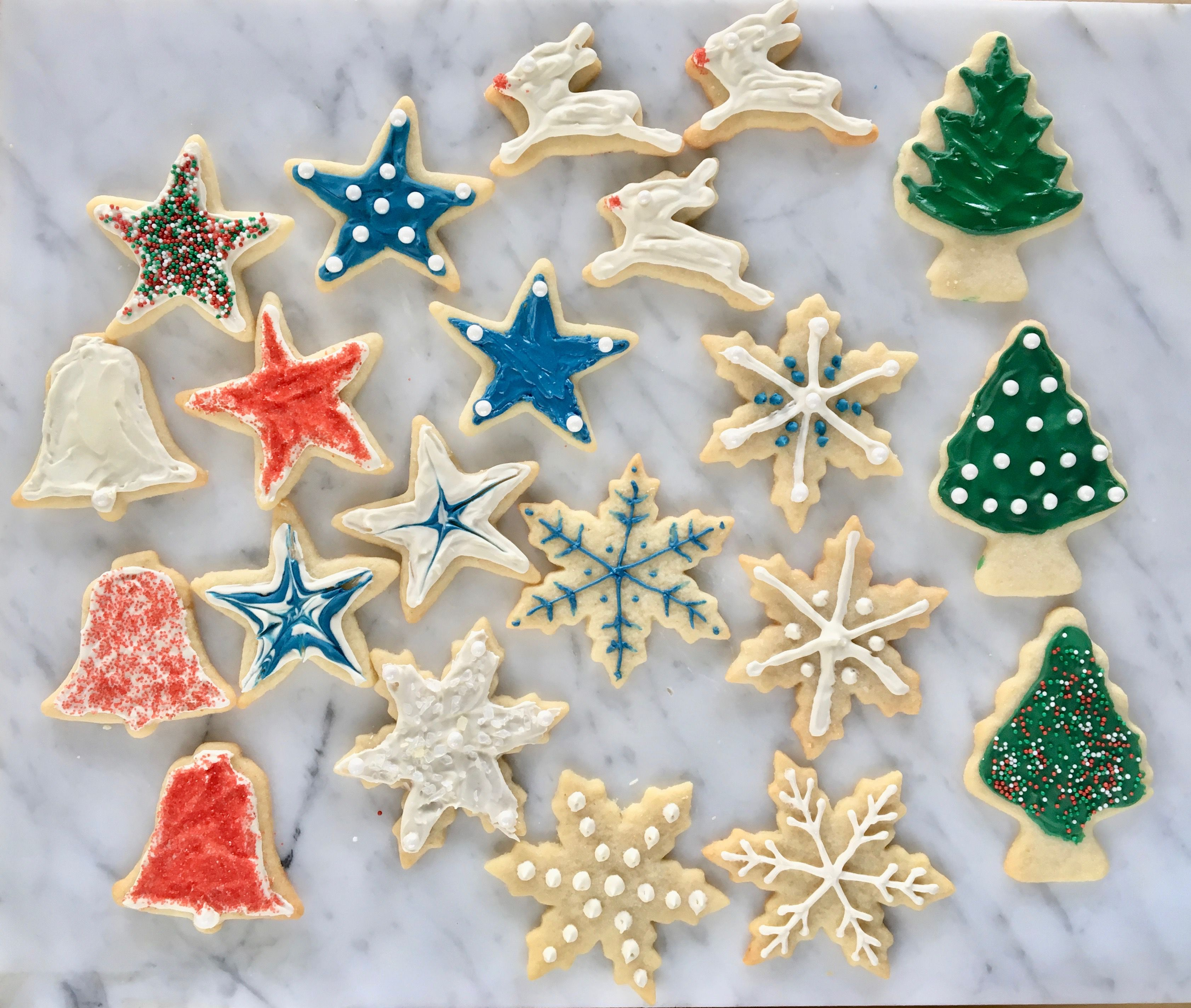 Christmas Cookie Decorating, Step-by-Step