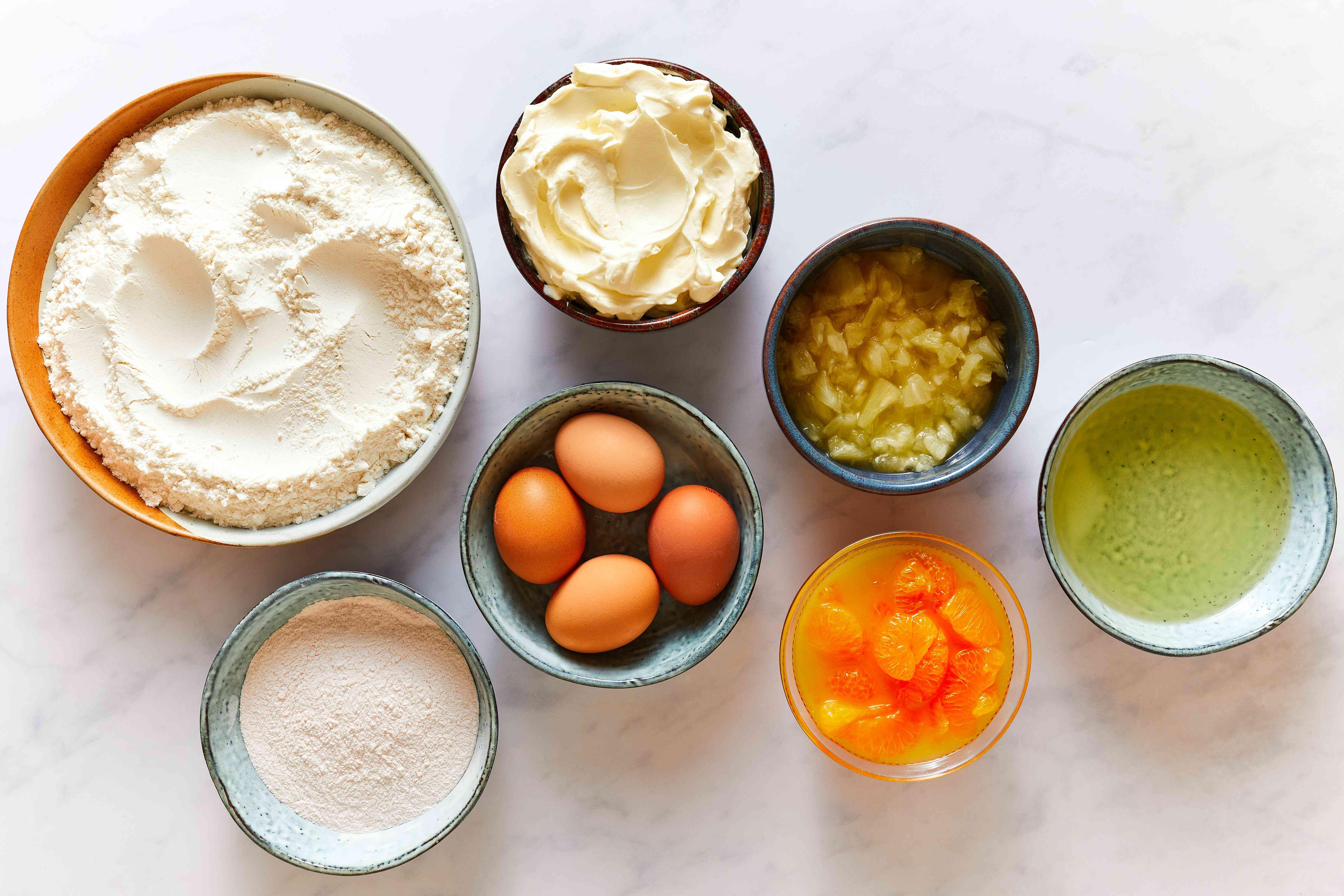Southern Mandarin Orange Cake ingredients
