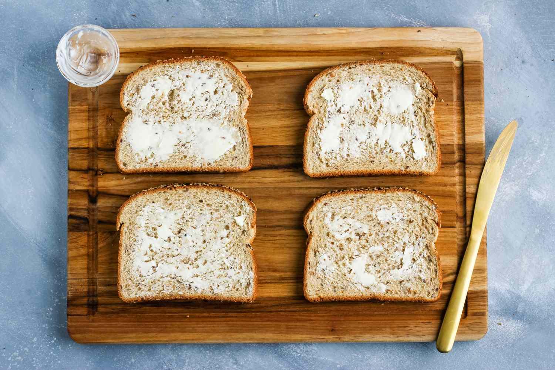 Butter in bread