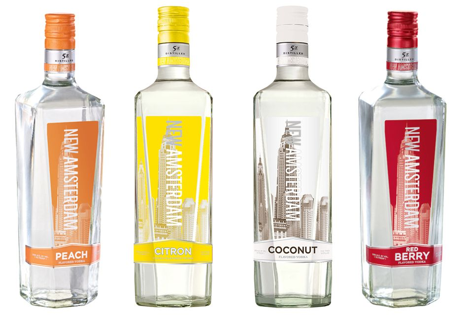 New Amsterdam Flavored Vodkas