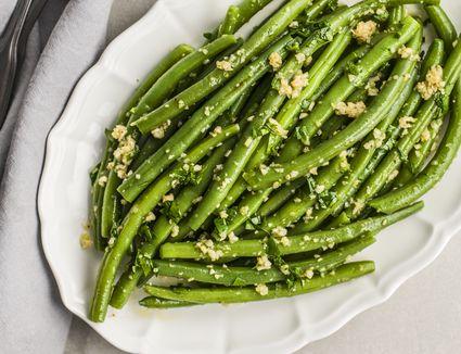 Green bean saute