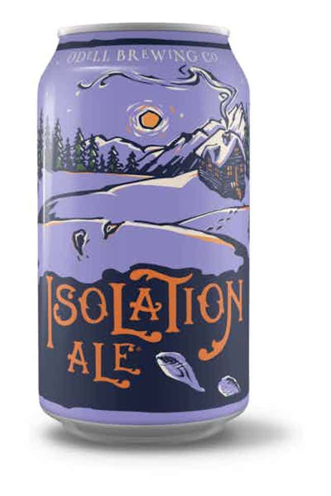 Odell Brewing Isolation Ale