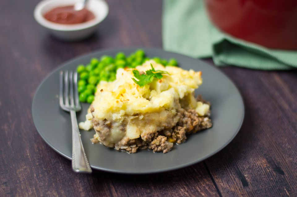 Easy traditional cottage pie