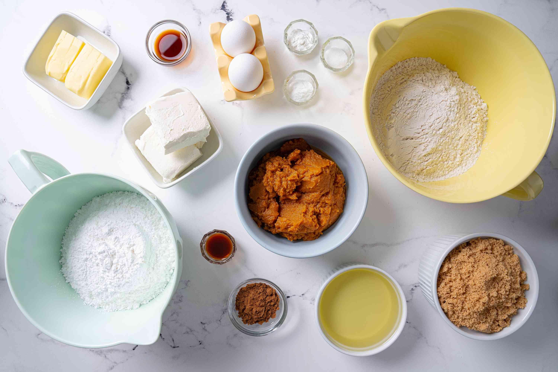 Pumpkin Whoopie Pies ingredients