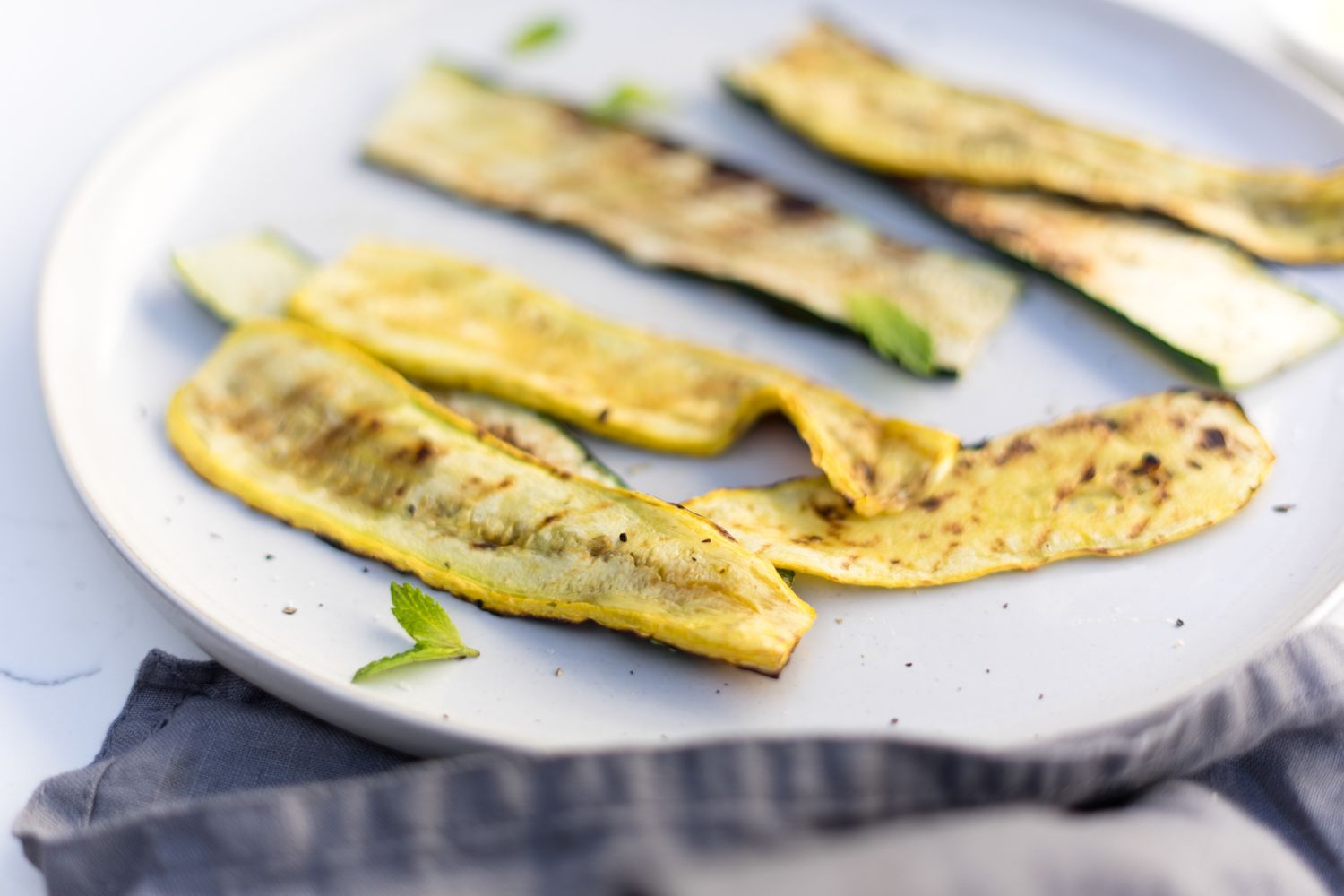 Grilled Zucchini and Summer Squash