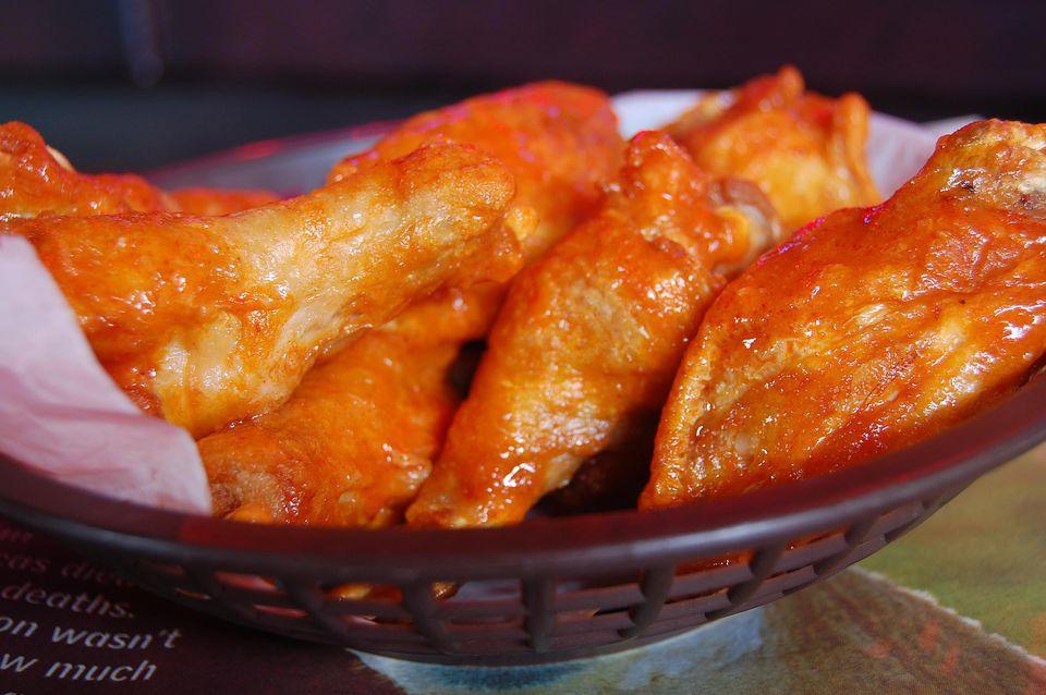 Receta de alitas de pollo Buffalo Ginger Garlic