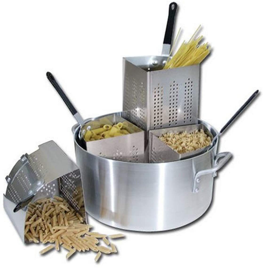 Winware 20-Quart Aluminum Pasta Cooker APS-20