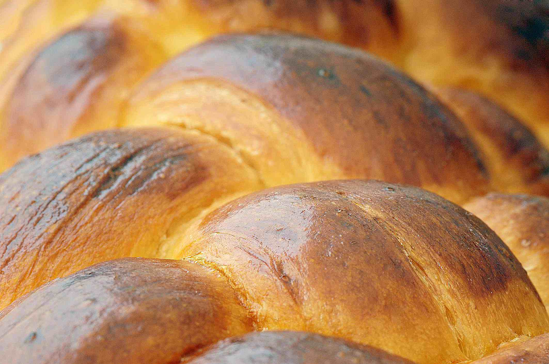 Braided White Bread