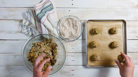 Healthy Zucchini Oat Breakfast Cookies
