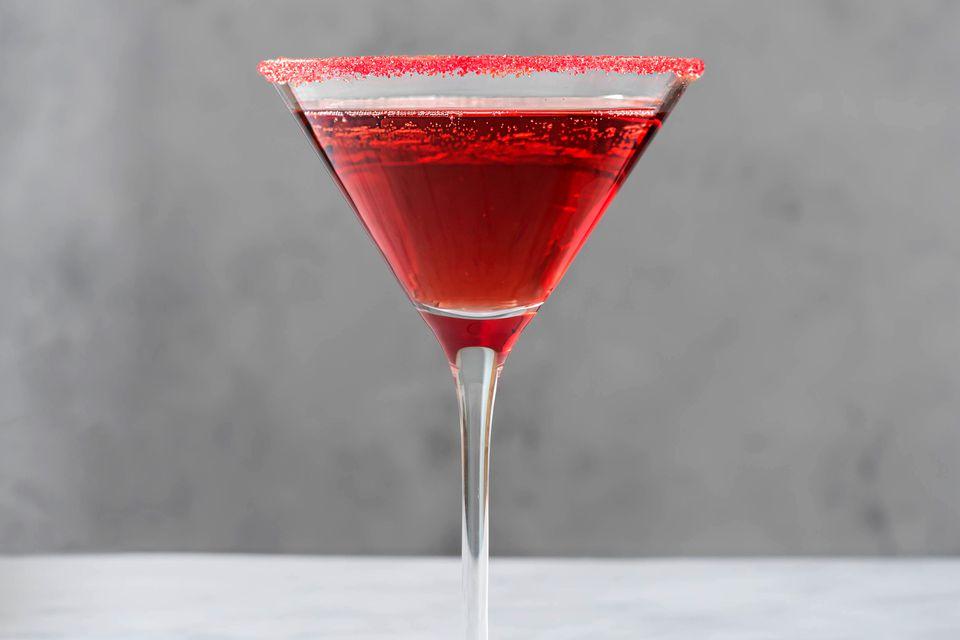 Vampire Kiss Champagne Cocktail