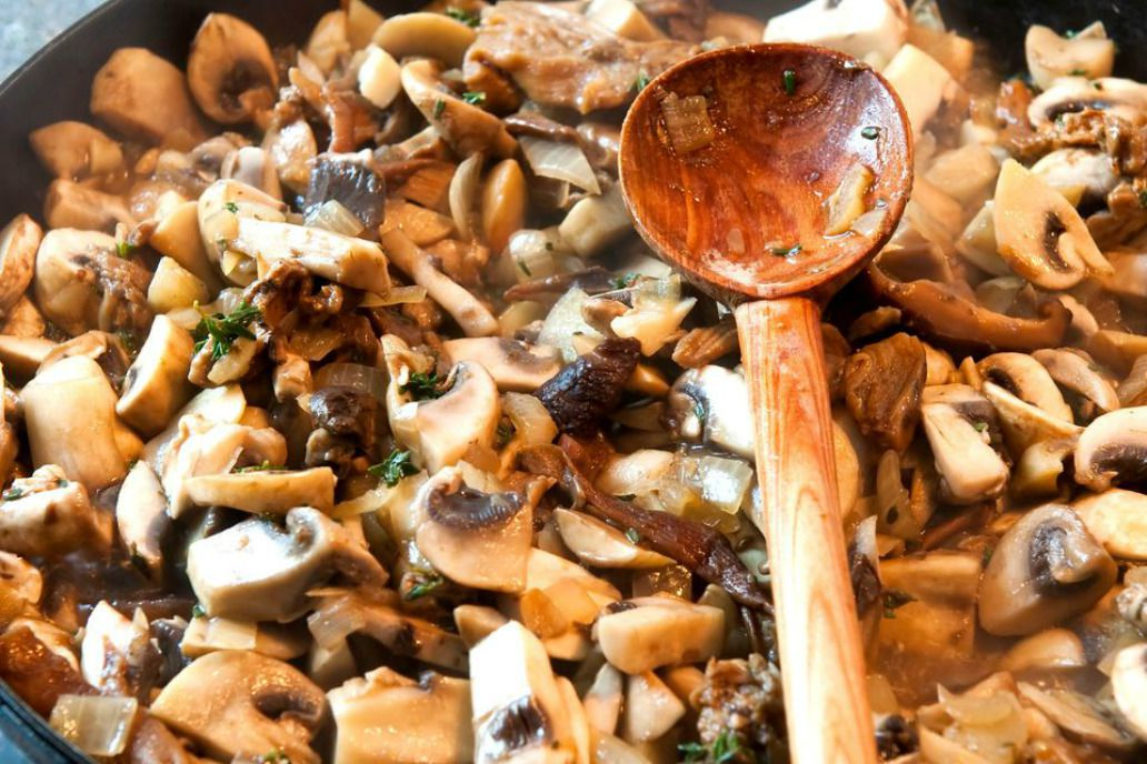 Quick Sauteed Wild Mushrooms-