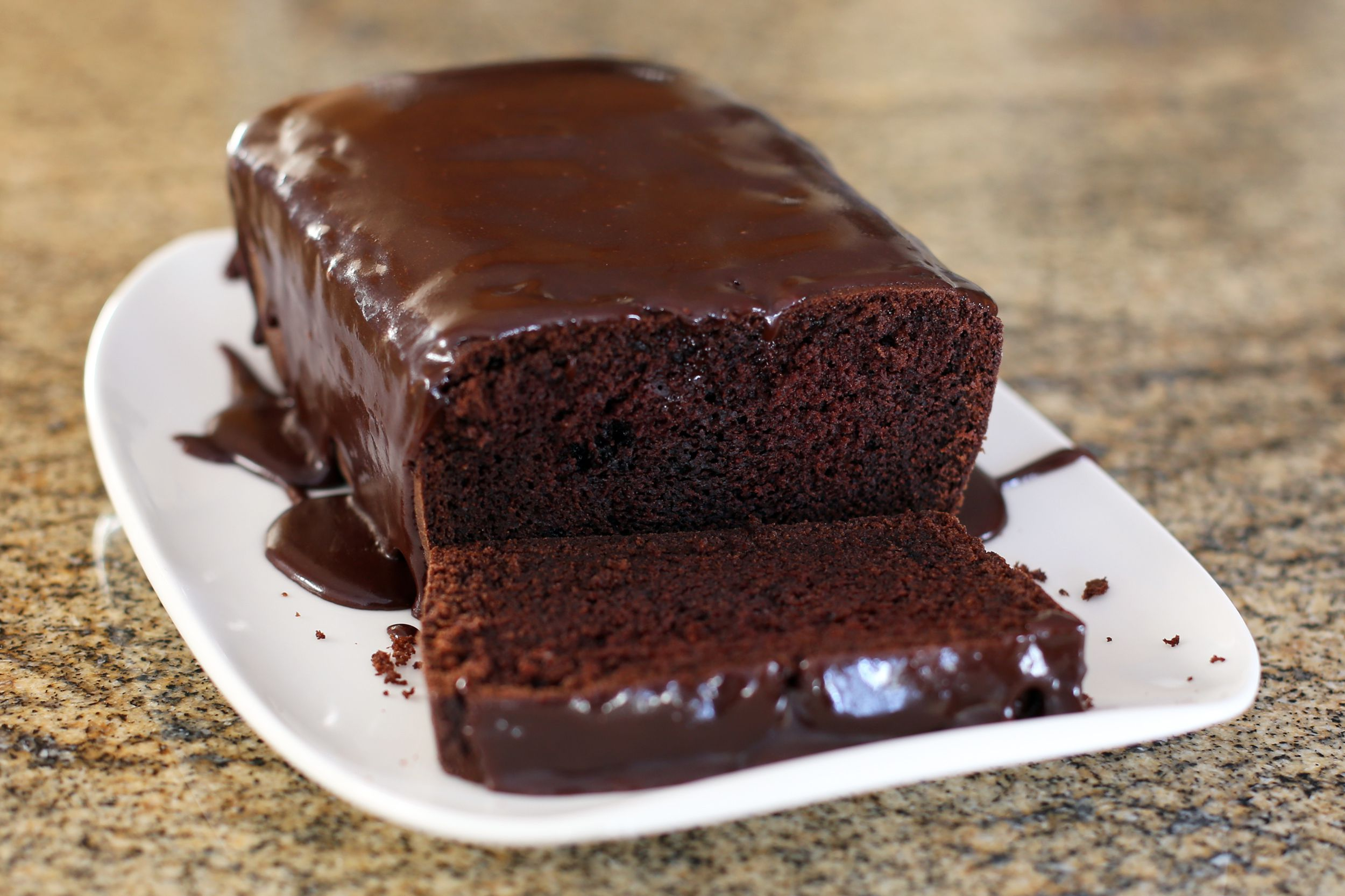 Easy Moist Chocolate Loaf Cake