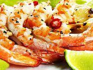 Coconut Lime Grilled Shrimp