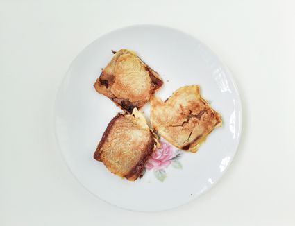 Nian Gao Cake In Plate On Table