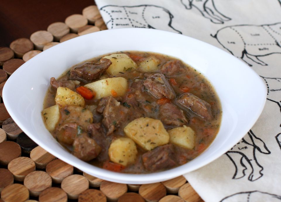 Irish Stew With Lamb