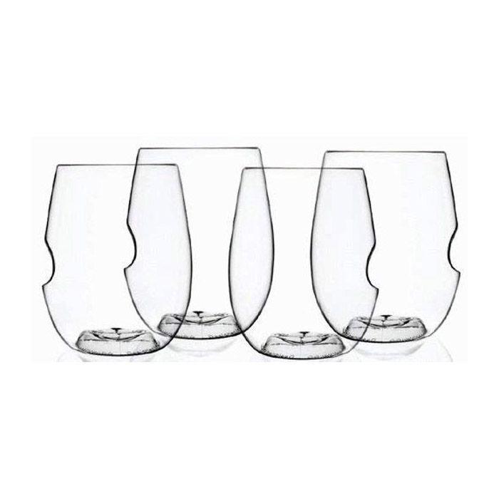 Govino Go-Anywhere Wine Glasses, Set of 4