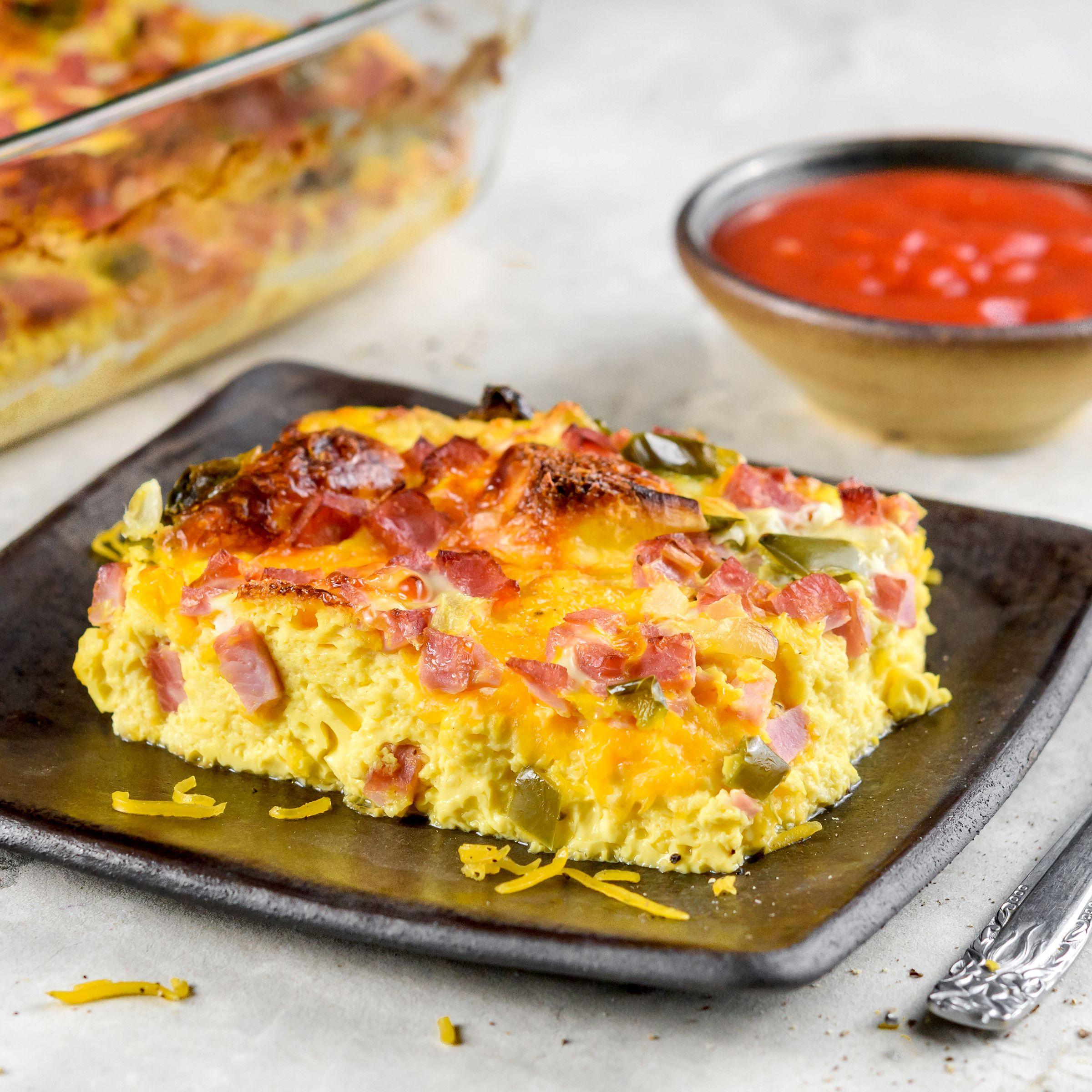 Western Ham And Egg Casserole Recipe