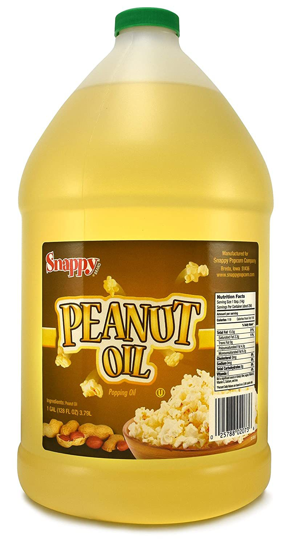 Snappy Popcorn Snappy Pure Peanut Oil, 1 Gallon