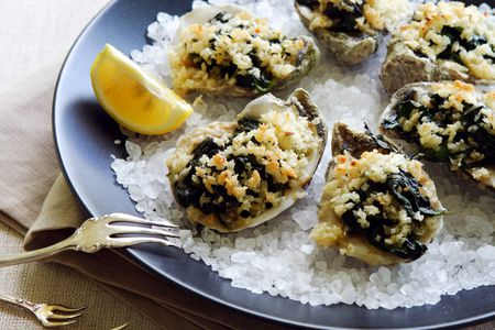Classic Oysters Rockefeller