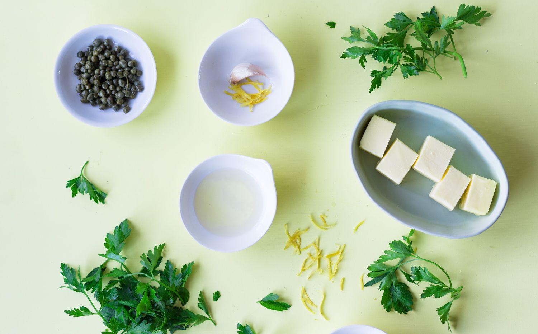 Lemon caper sauce ingredients