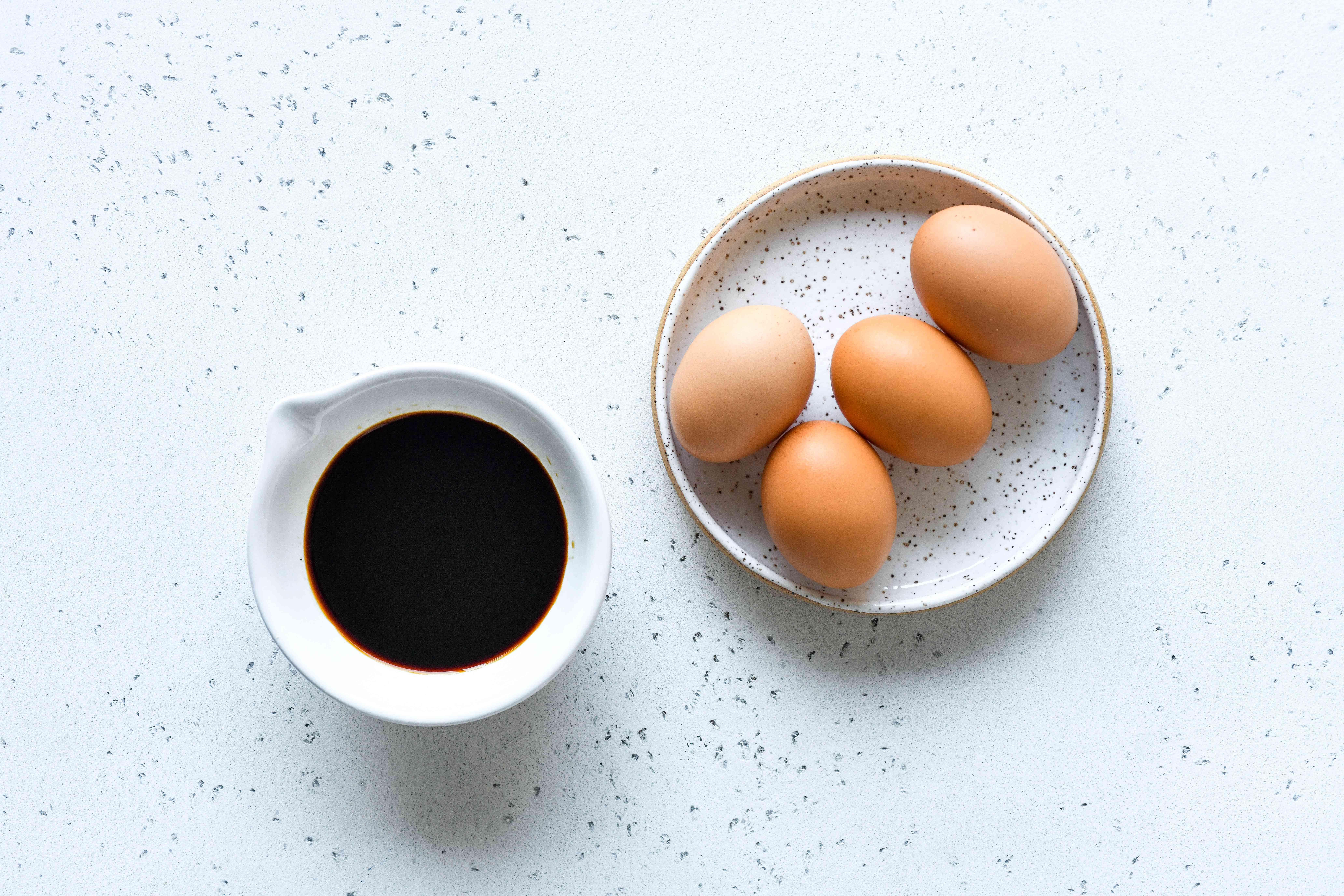 Easy Soy Sauce Eggs (Shoyu Tamago) ingredients