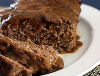 Meatloaf With Brown Gravy Recipe