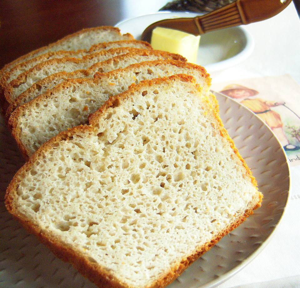 Delicious homemade gluten-free bread