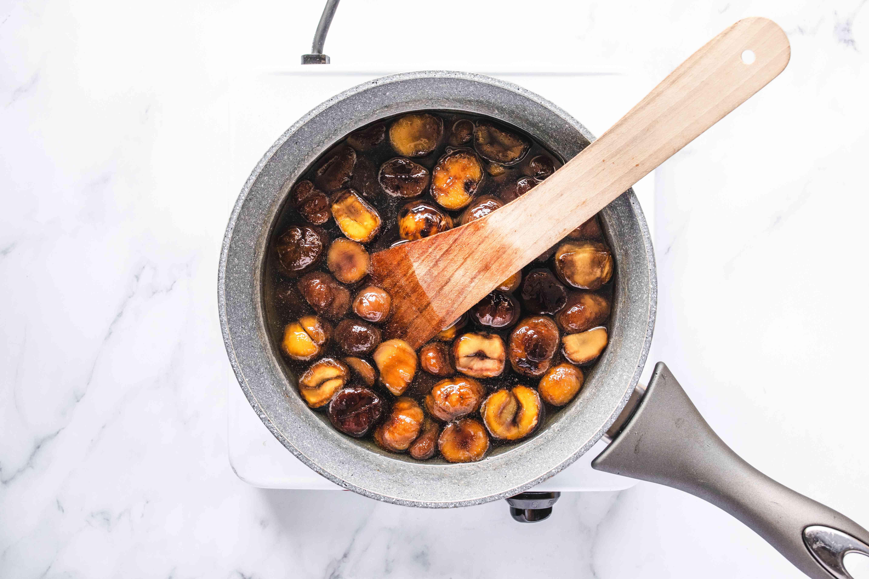 Mix chestnuts