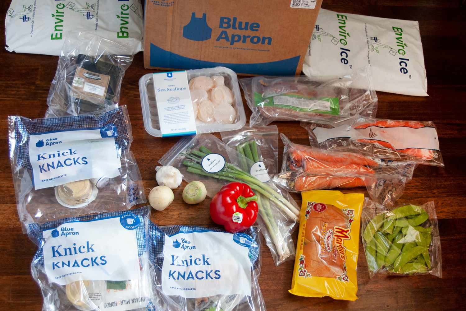 Blue Apron packaging