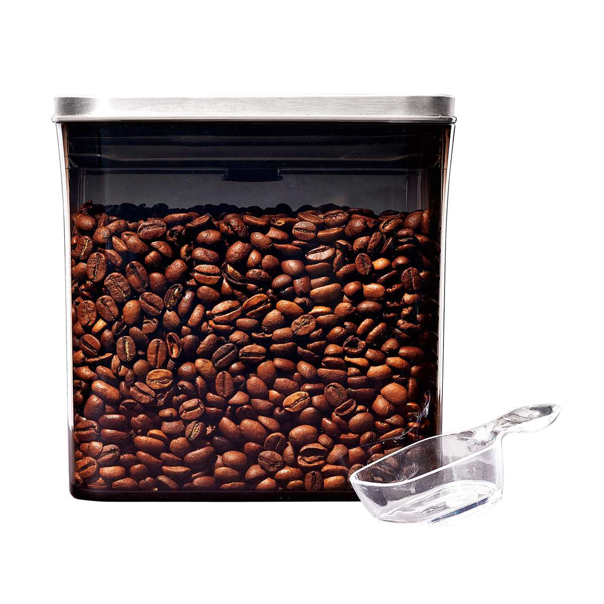 OXO Steel Coffee POP Container (1.7 Qt) with Scoop
