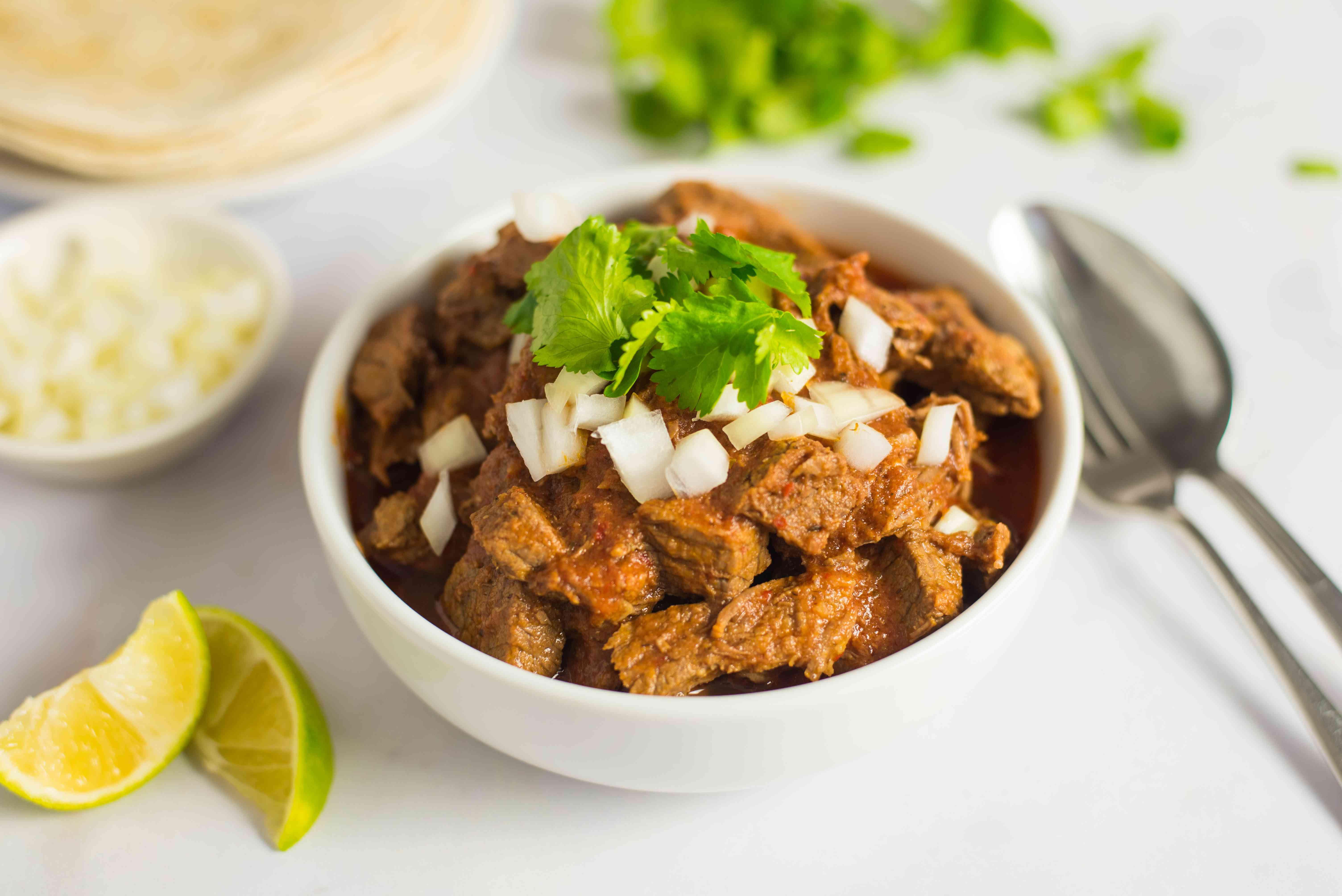 Easy chile colorado recipe