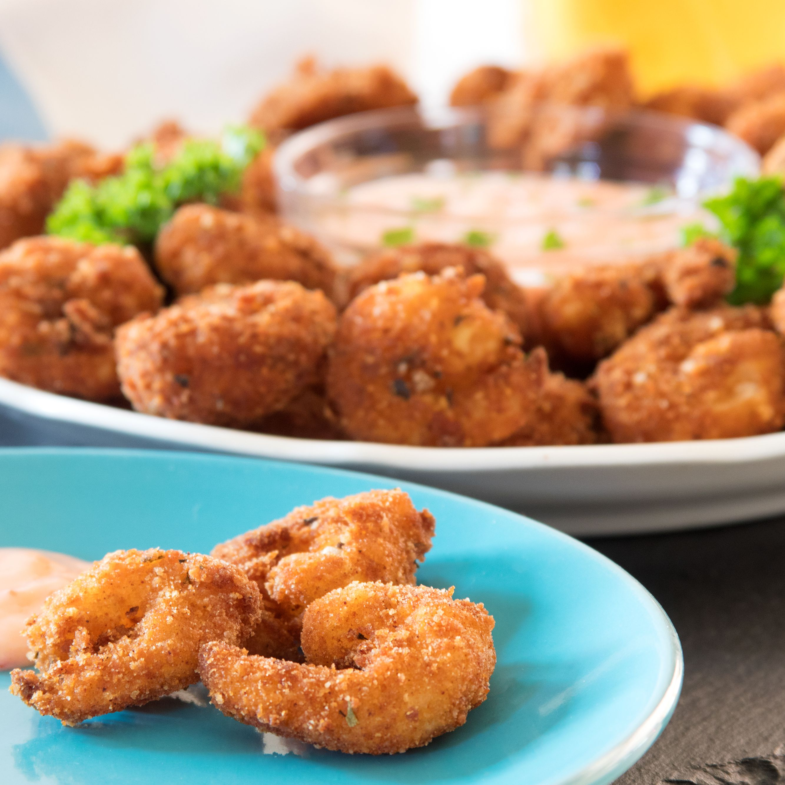 Popcorn Shrimp Recipe With Sweet Chile Dipping Sauce