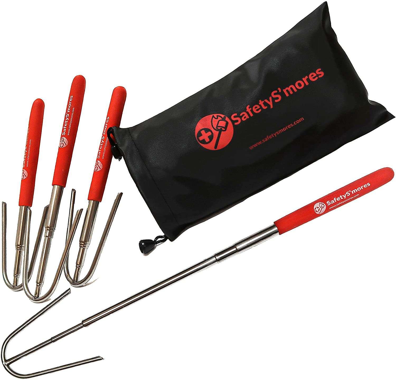 HigherHuman Safety SMores Roasting Sticks