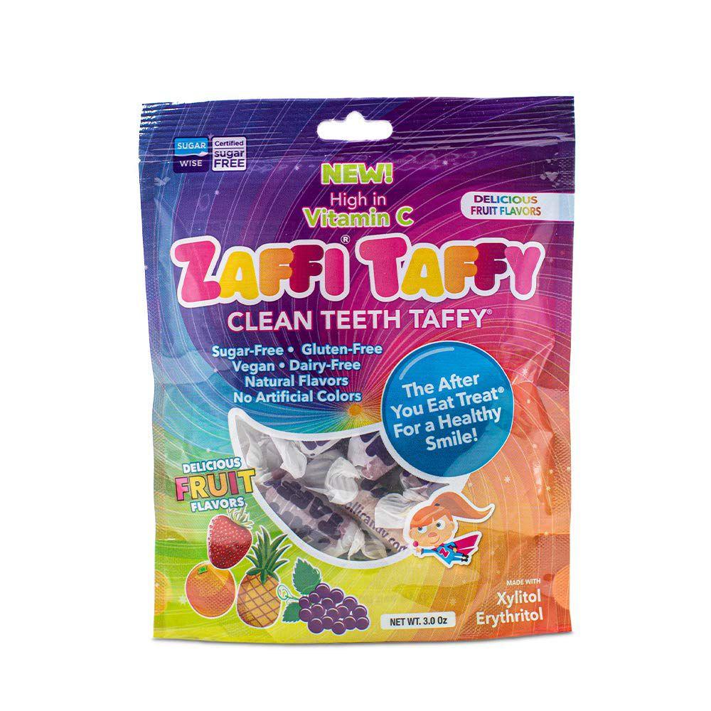 Zollipops Zaffi Taffy Clean Teeth Taffy