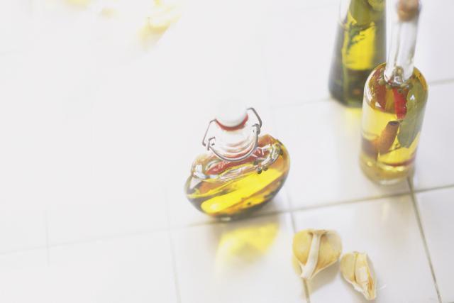 Garlic and Habanero Pepper Infused Vodka