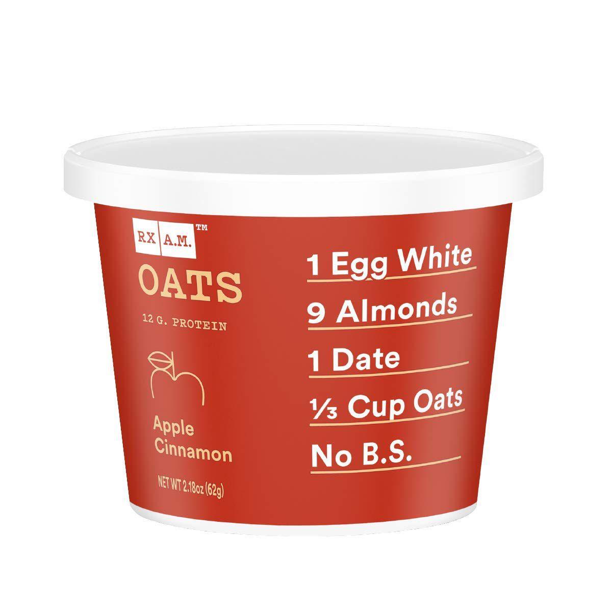 RXBar Gluten Free Oatmeal Cups, Apple Cinnamon