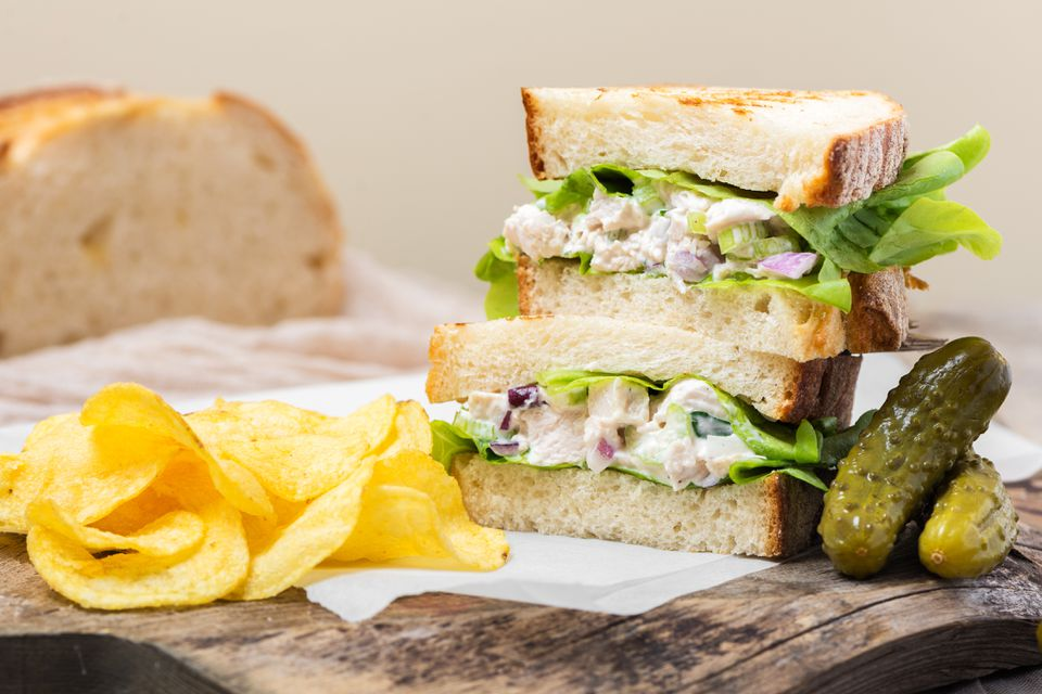 Perfect Turkey Salad Sandwich Recipe