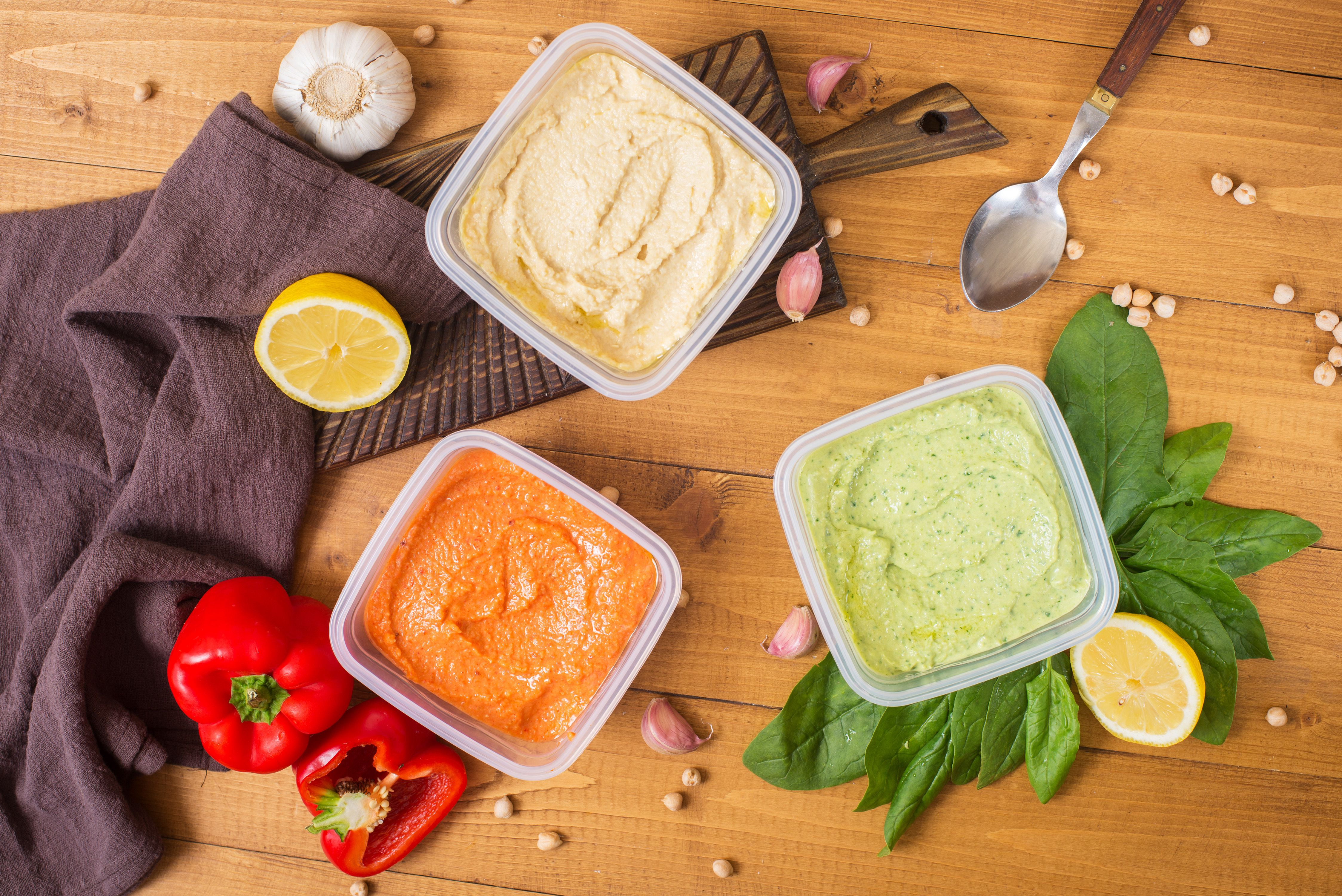 can you freeze hummus - variety thawed