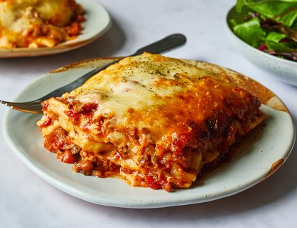 Red and White Sauce Lasagna