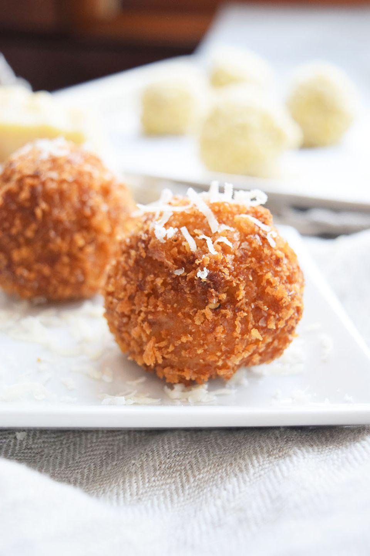 Cheesy Fontina y Mozzarella Arancini
