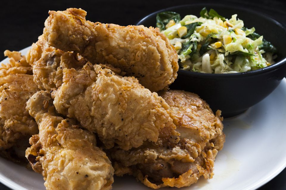 Chef Alexander Smalls' Fried Chicken from his lastest cookbook Meals, Music and Muses