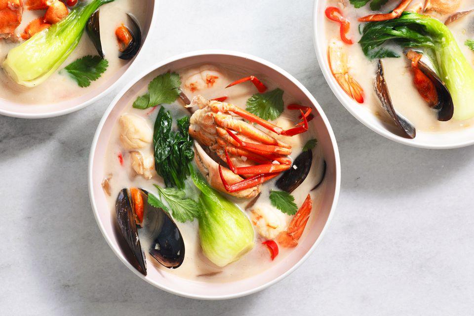 Tom Yum Talay Soup