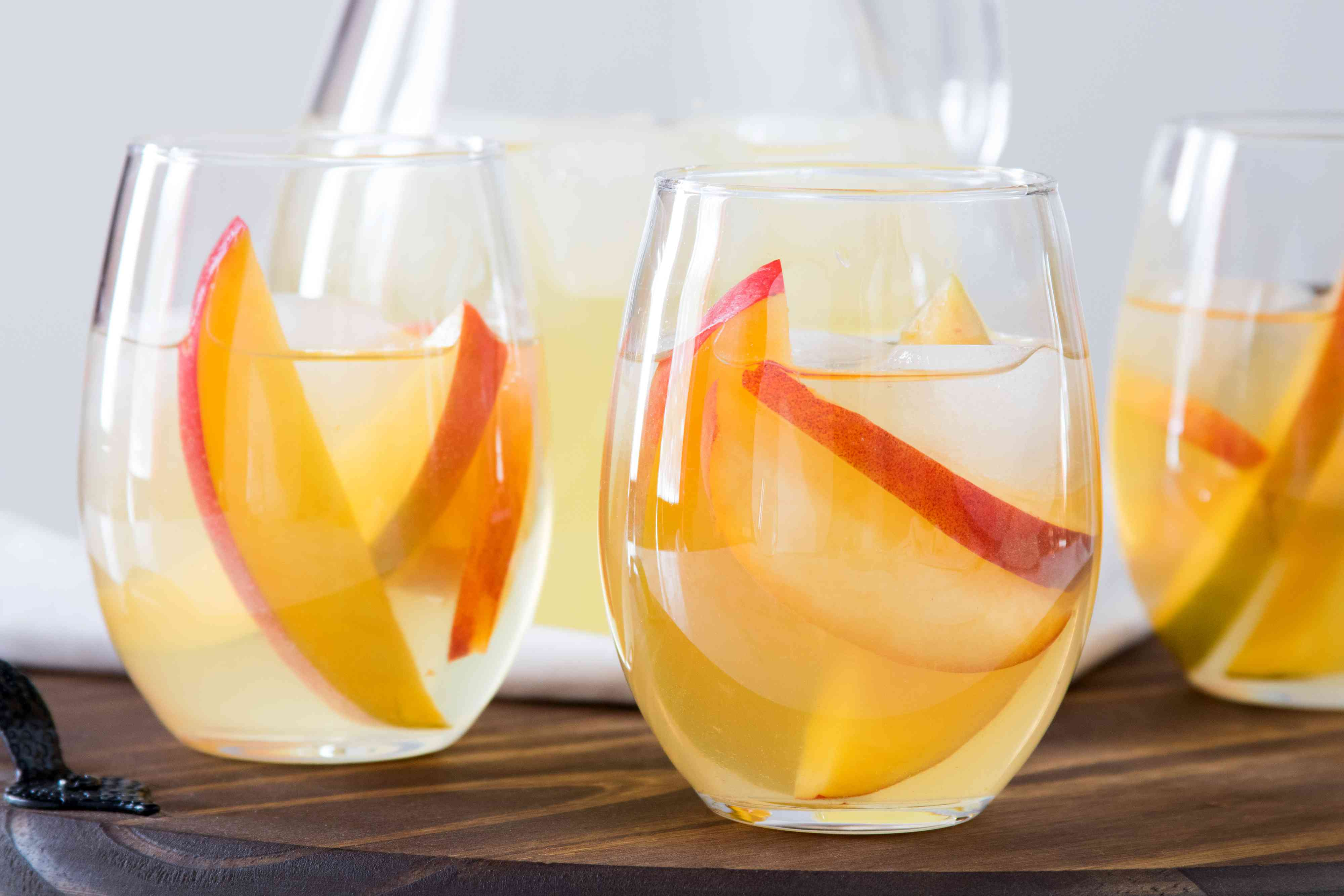 White Wine Peach and Mango Sangria