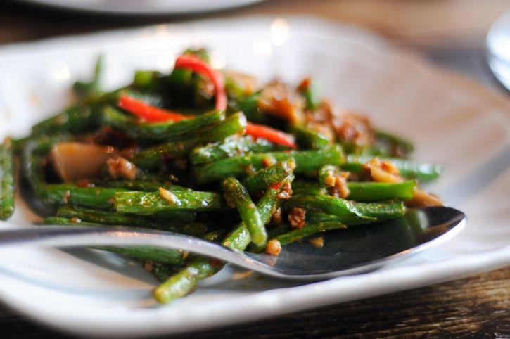 Recetas de judías verdes de Sichuan