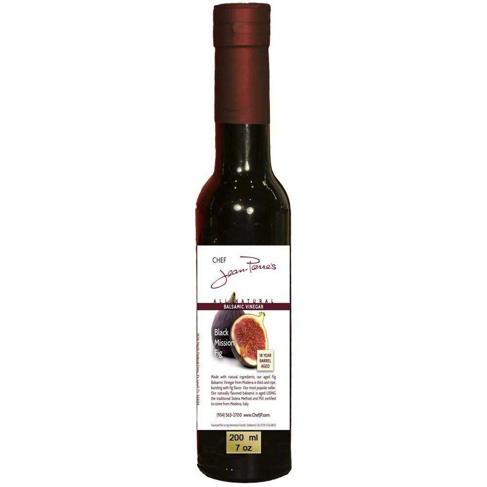 Chef Jean Pierre Black Mission Fig Aged Balsamic Vinegar