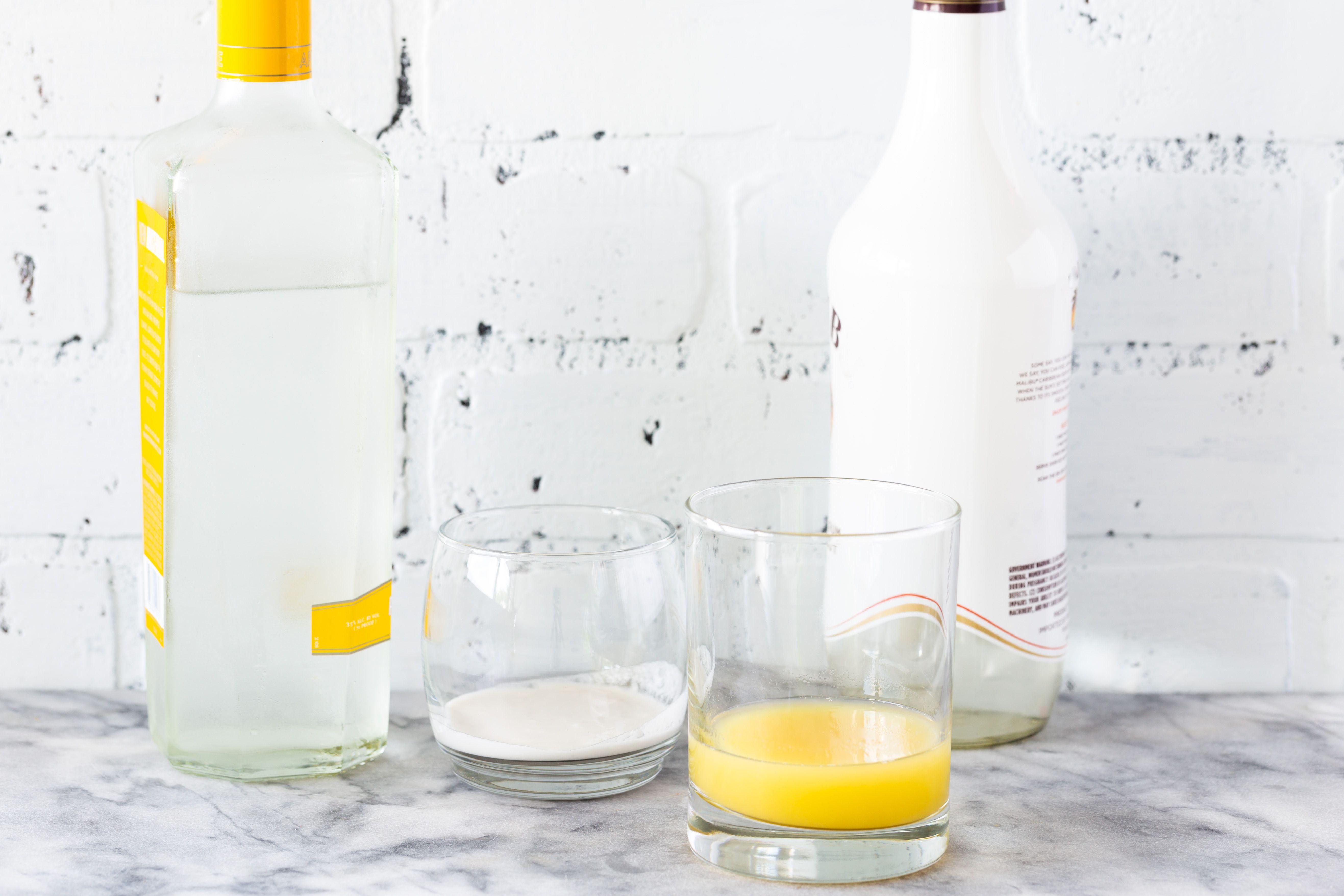 Coconut Martini Recipe ingredients