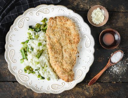 Oven Fried Turkey Cutlets With Parmesan Cheese Recipe