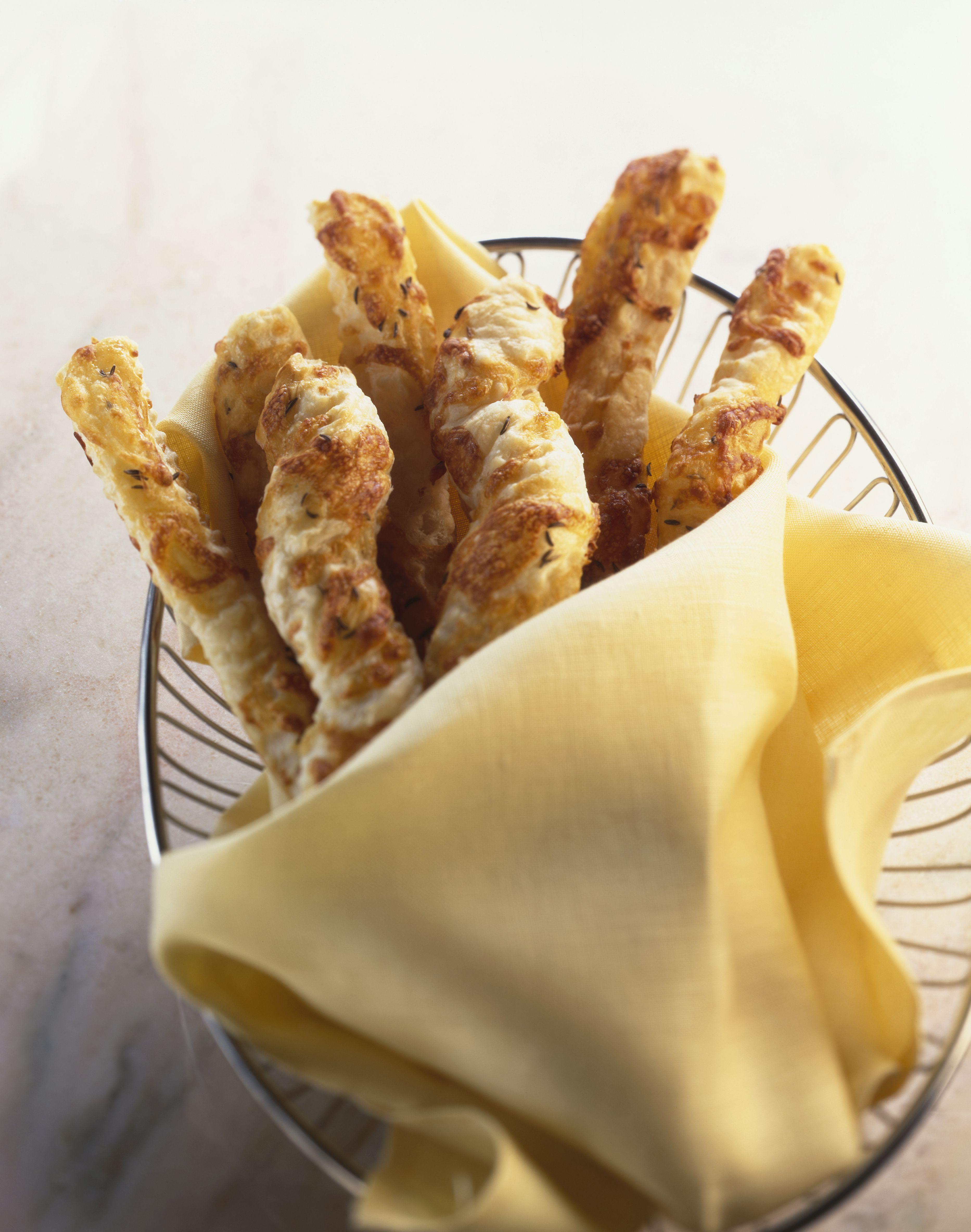 Caraway cheese straws