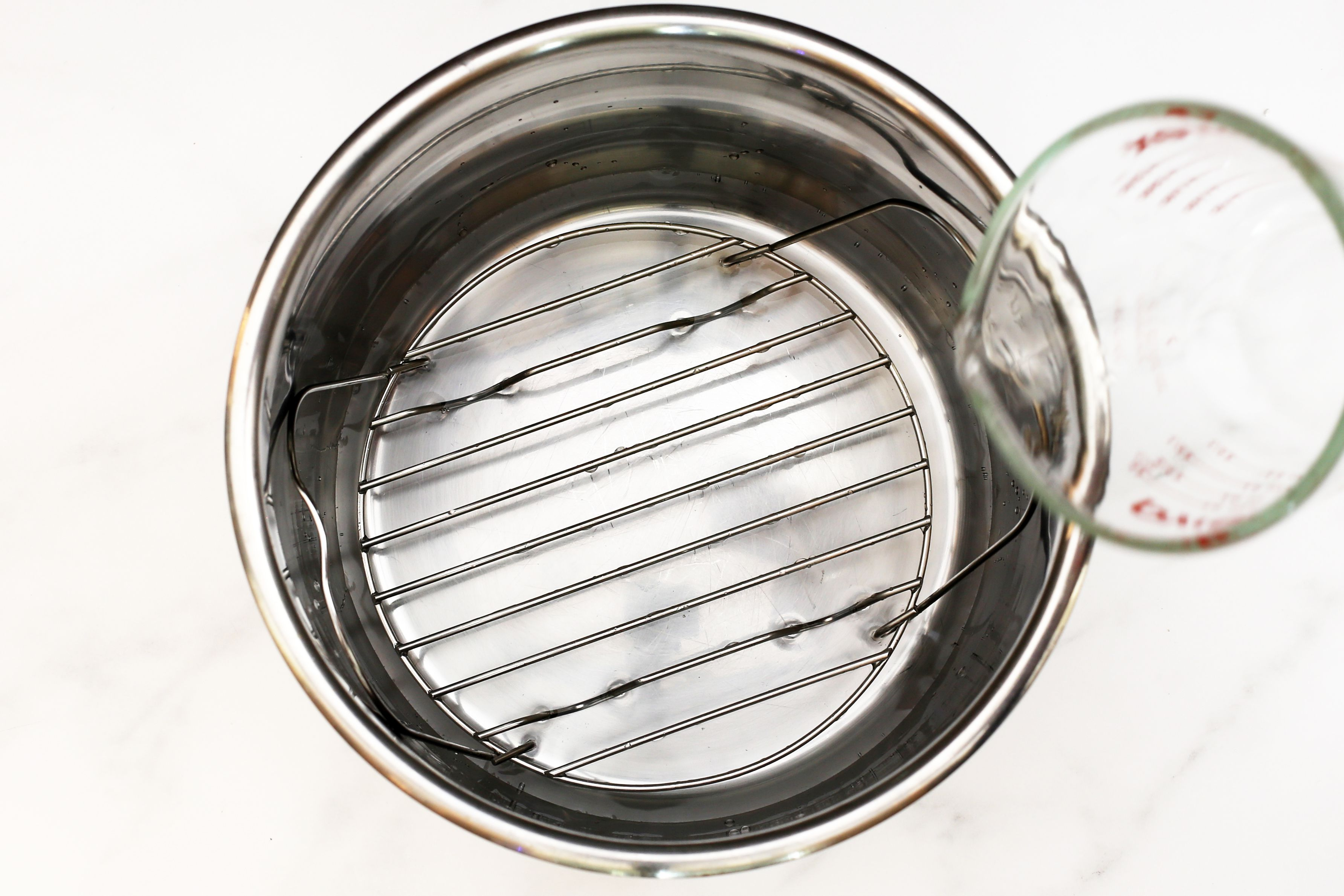 instant pot trivet and water